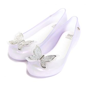 Melissa Shoes Mini Melissa Kids Ultragirl Butterfly Pumps, Glass