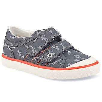 Startrite Wave Boys Infant Canvas Shoes