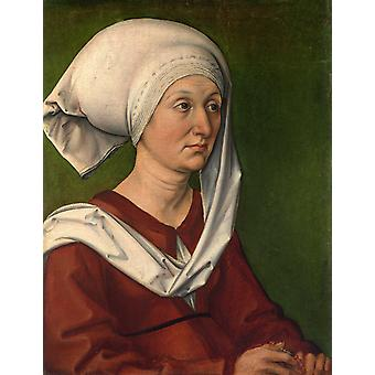 Portrait of a woman,Albrecht Durer,47x36cm