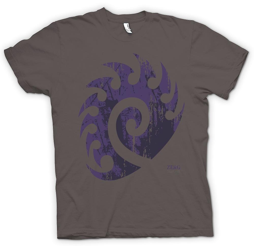 Mens T-shirt - Star Craft inspiré - Zerg
