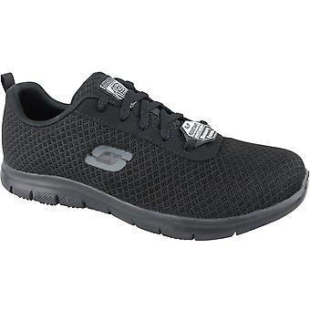 Skechers Ghenter Bronaugh 77210-BLK Womens sneakers