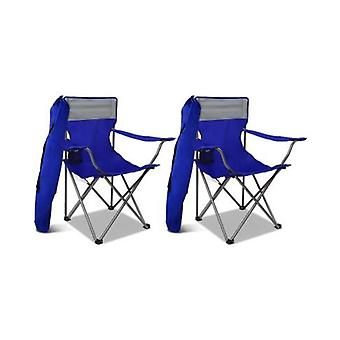 Portable Folding Camping Chairs (Set Of 2)