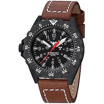 KHS Shooter MKII with leather strap buffalo leather brown - KHS. SH2HC. LB5