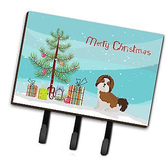 Imperial Shih Tzu Christmas Tree Leash or Key Holder