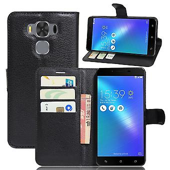 ASUS Zenfone 3 Max ZC553KL Wallet Etui-schwarz