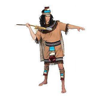 Costume Azteke Mr. Inyan Men's Costume Mexico Ethno Nations South America Inca Peoples Pierro's Costume