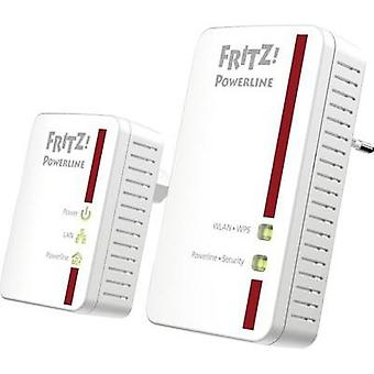 Powerline WLAN starter kit 500 Mbit/s AVM FRITZ!Powerline 540E WLAN