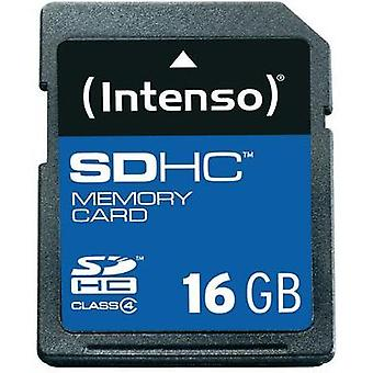 SDHC card 16 GB Intenso 16GB sikre Digital Card SDHC Class 4