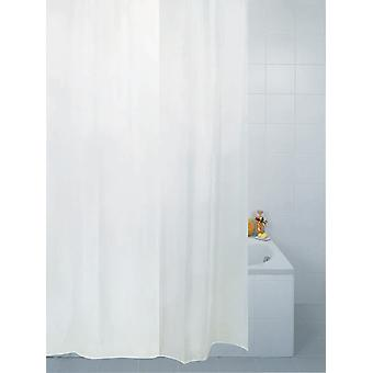 Professional Series White Anti-Bacterial Coated Shower Curtains 180 X 200CM