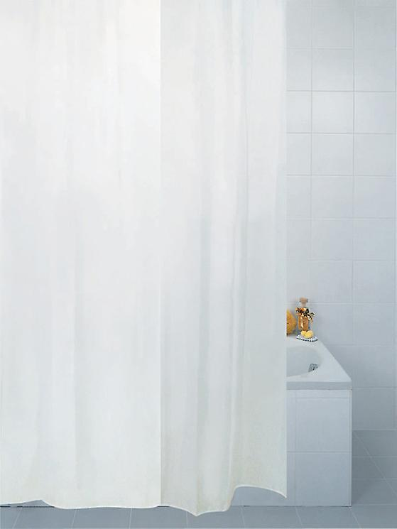 Professional Series Anti-Bacterial White Polyester Shower curtains