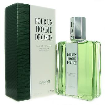 Pour Un Homme by Caron 6.7 oz EDT Spray