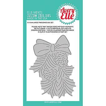 Elle-Ments Dies-Large Pinecones D1644