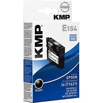 KMP Ink replaced Epson T1621 (16) Compatible Black 1621,4801