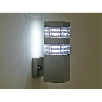 LED outdoor light, Wall lamp, 80 LED, 6250 K, jade wall, 10254