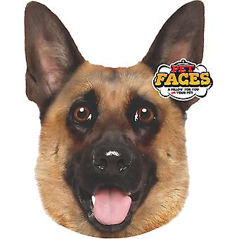 Pet Face Cushion German Shepherd 45cm
