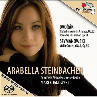 Dvorak/Szymanowski - concierto para violín de la Dvor K:; Romance; Szymanowski: Concierto para violín [SACD] USA importar