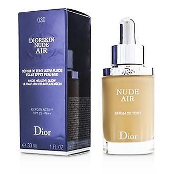 Christian Dior Diorskin Nude Air Serum Foundation SPF25 - mittlere Beige # 030 - 30ml / 1oz