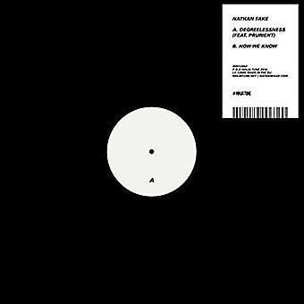 Nathan Fake - Degreelessness Feat. Mojigata ahora de blanco y negro [vinilo] USA importamos