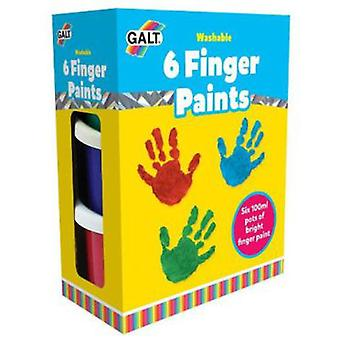 Galt 6 Finger paints - Lavables