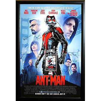 Ant-Man - signé Movie Poster
