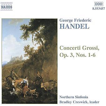 G.F. Handel - Handel: Concerti Grossi, Op. 3 [CD] USA import