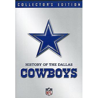 NFL historie af Dallas Cowboys [DVD] USA importerer