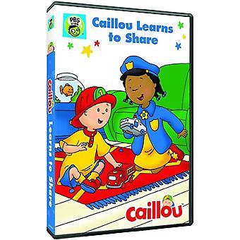 Caillou: Caillou Learns to Share [DVD] USA import