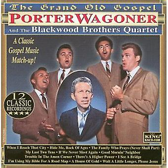 Wagoner/Blackwood Brothers - Grand vieil Évangile [CD] USA import