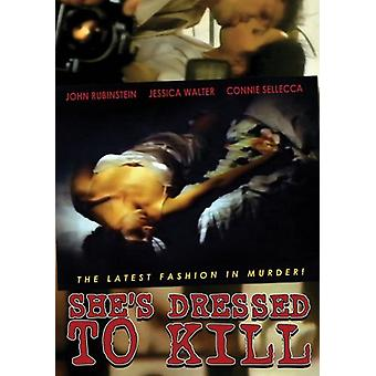 She's Dressed to Kill [DVD] USA import