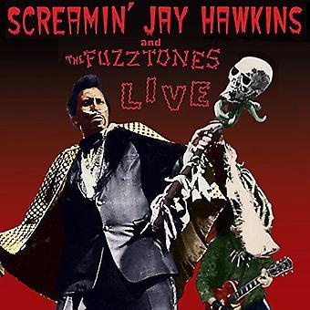 Hawkins, Screamin' Jay & the Fuzztones - Live [Vinyl] USA import