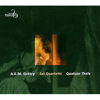 Gretry / Bayet / Liltorp / Ruymen / Adam - 6 strygekvartetter Opus 3 [CD] USA import