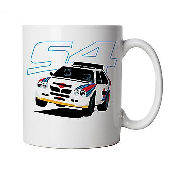 Vectorbomb, S4,  Classic Group B Rally Car Mug