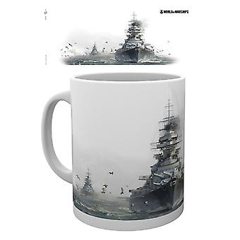 World of Warships Bismark Mug