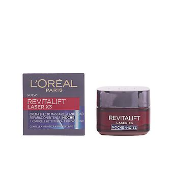 L'Oreal Make Up REVITALIFT LASER X3 night cream