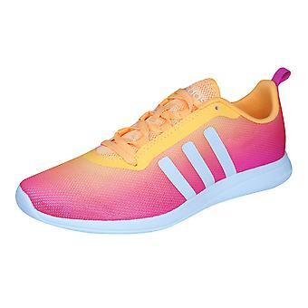 adidas Neo Cloudfoam Pure Womens Running Trainers / Shoes - Pink