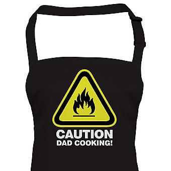 Caution Dad Cooking, Apron