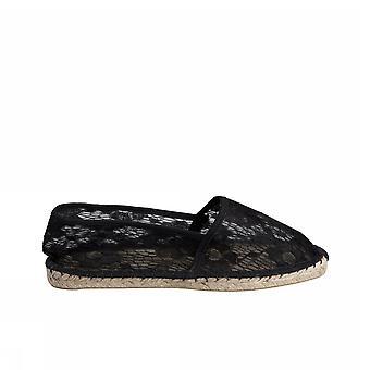 Pieces Haisha Espadrillos Lace 17064249 Black Damen Moda Schuhe