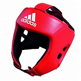 Adidas  AIBA Style Head Guard - Red