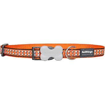 Red Dingo Reflective Dog Collar Orange (Hunde , Für den Spaziergang , Halsbänder)