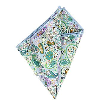 Snobbop handkerchief light blue Paisley handkerchief Cavalier cloth