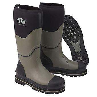 Grubs Ceramic 5.0 Hi S5 Wellington Safety Boots - Black & Grey