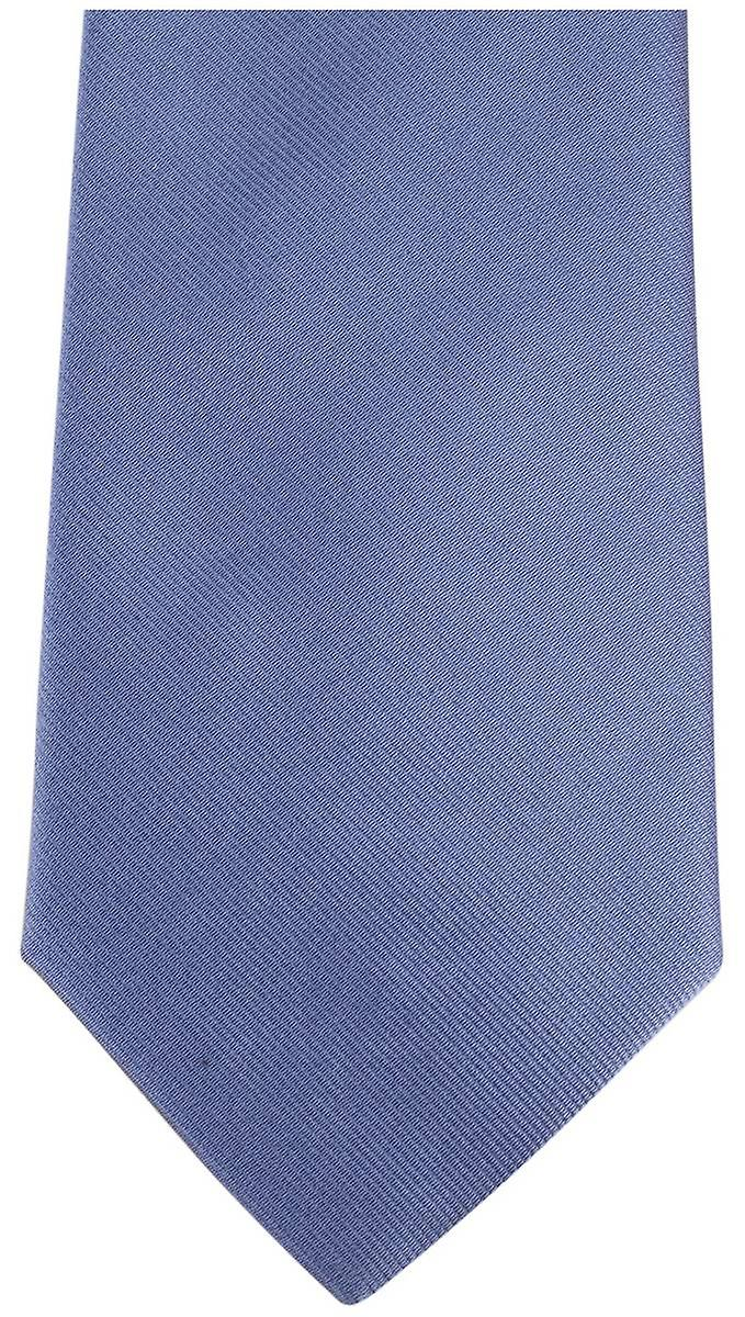 Bassin and Brown Plain Silk Tie - Blue/Red