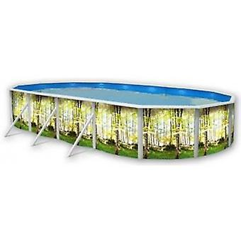 Toi Oval forest pool (Garden , Swimming pools , Swimming pools)