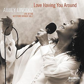 Abbey Lincoln - Love Having You Around [CD] USA import