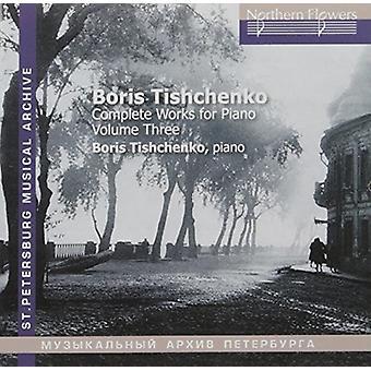Tishchenko / Mikhailov - Tishchenko: klaver sonater nr. 6 & 7 [CD] USA import