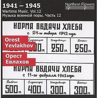 St.Petersburg State Academic Symfoniorkester - krigstid musik 12 Orest Yevlakhov symfoni [CD] USA import