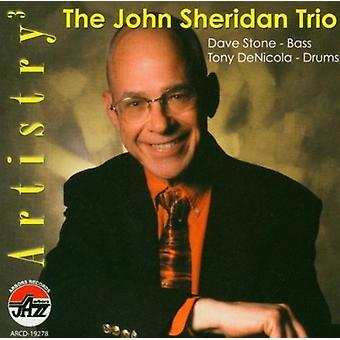 John Sheridan - artisteri [CD] USA import