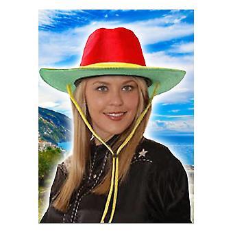 Hut Cowboy Hut samt 3 Farbe