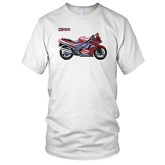 Kawasaki ZZR1100 Awesome Classic Superbike Ladies T Shirt