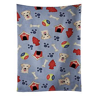 Perro casa colección Golden Retriever toalla de cocina